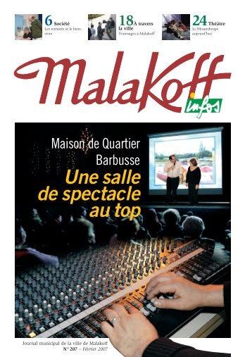 Télécharger le magazine en PDF - Ville de Malakoff