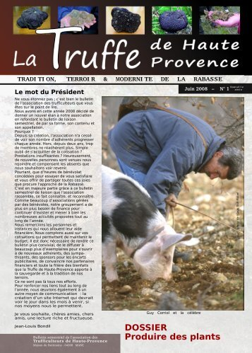 truffe de Haute Provence