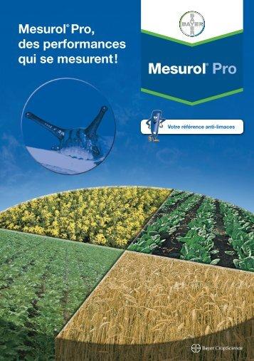 Brochure Mesurol Pro - Bayer CropScience