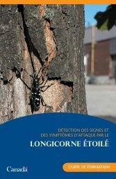 LONGICORNE ÉTOILÉ - Publications du gouvernement du Canada