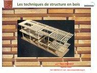 Les techniques de structure en bois - cneaf