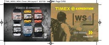 Más información - Timex