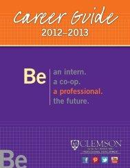 Career Guide - Michelin Career Center - Clemson University