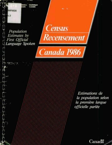 Voir CS96-F0026-1989.pdf - Publications du gouvernement du ...