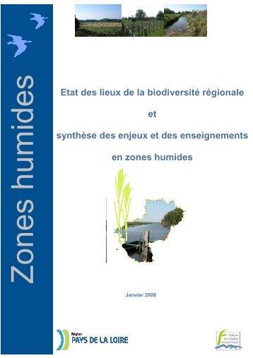 Etat des lieux de la biodiversité régionale et synthèse des enjeux et ...