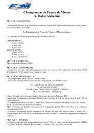 Championnat de France de Vitesse en Motos Anciennes - Bike 70