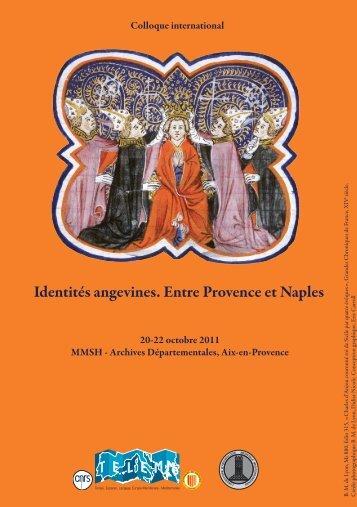 Identités angevines. Entre Provence et Naples - Hypotheses