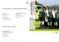Informationen zum Bewerbungsverfahren ... - Kantonsspital St. Gallen