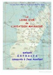 Le Livre d'Or de l'Aviation Malgache (extraits)