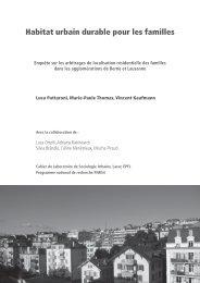 Cahiers_Lasur_PNR54 (pdf, 18 MiB) - Infoscience - EPFL