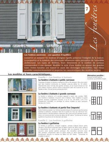 Les fenêtres - MRC de Rivière-du-Loup