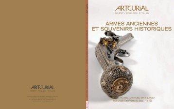 Artcurial | Armes anciennes et souvenirs historiques | 5.11.2008 ...
