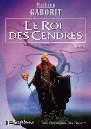 Les Chroniques de Féals-3-Le Roi des Cendres