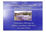 La Station d™Epuration de Noeux-les-Mines
