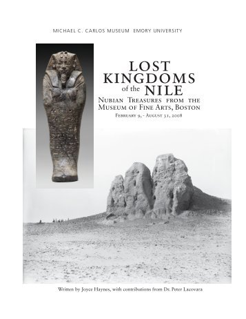 lost kingdoms nile - Michael C. Carlos Museum - Emory University