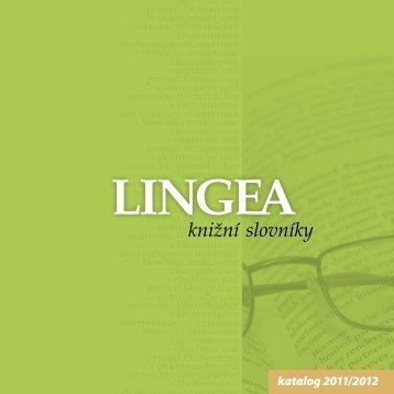 katalogu knižních titulů Lingea