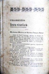 Fragmentos. Pelo Dr. Pedro de Queiroz