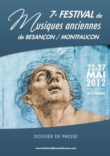 Dossier de presse du Festival - Festival de musiques anciennes de ...
