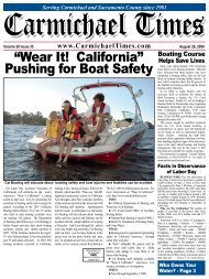 """Wear It! California"" - Carmichael Times"