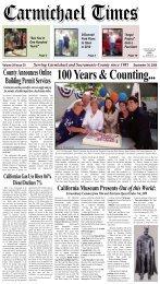County Announces Online Building Permit ... - Carmichael Times
