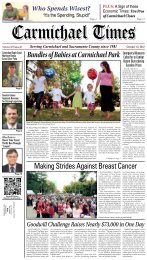 Making Strides Against Breast Cancer - Carmichael Times