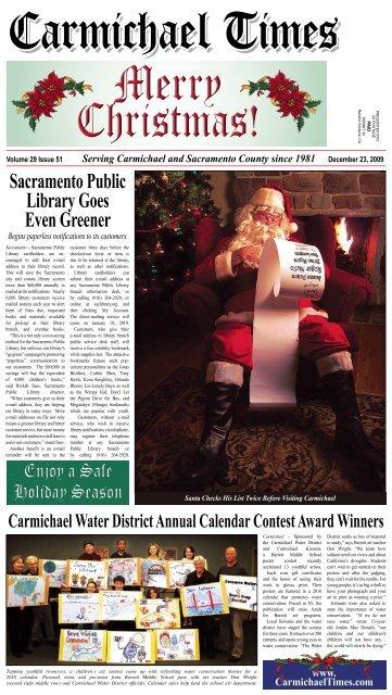 Merry Christmas - Carmichaeltimes.com