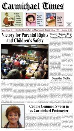 Times 11-25-09.pdf - Carmichaeltimes.com