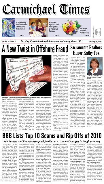 A New Twist In Offshore Fraud - Carmichaeltimes.com