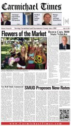 SMUD Proposes New Rates - Carmichael Times