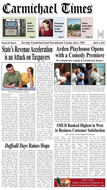 Arden Playhouse Opens with a Comedy Premiere - Carmichael Times