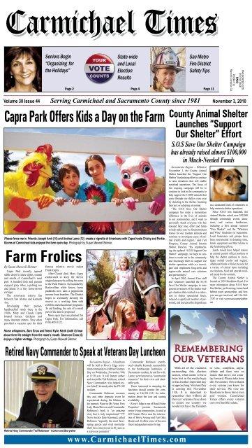 Farm Frolics - Carmichael Times
