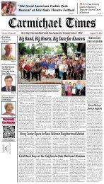 August 15, 2012 - Carmichael Times