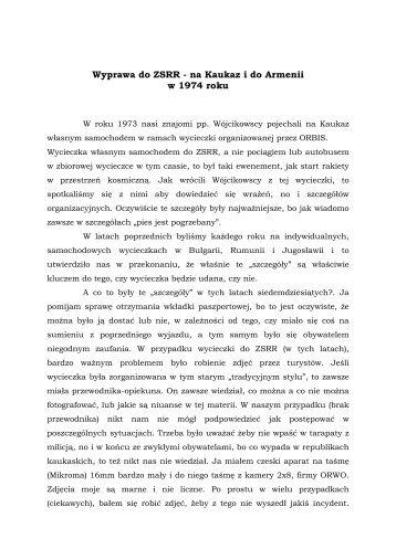 Wyprawa do ZSRR - J. Smolicz - Cartoon Trabant
