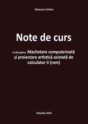Curs-Machetare-ROM