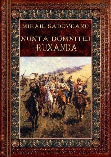 Mihail Sadoveanu – Nunta Domnitei Ruxandra - Citeşte mult, ca ...