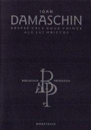 Ioan Damaschin - Despre cele doua vointe ale lui Hristos.pdf