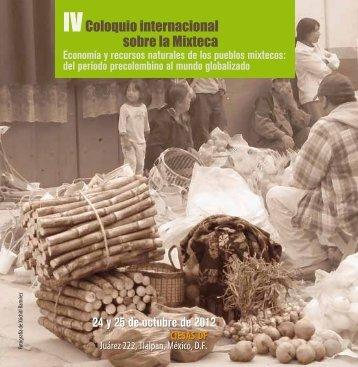 programa-iv-coloquio-internacional-de-la-mixteca