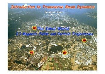 Granada Trans Dyn_1print - CERN Accelerator School