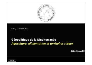 Lire la présentation - Académie d'Agriculture de France