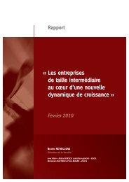 Rapport RETAILLEAU - economie.gouv.fr : Accueil