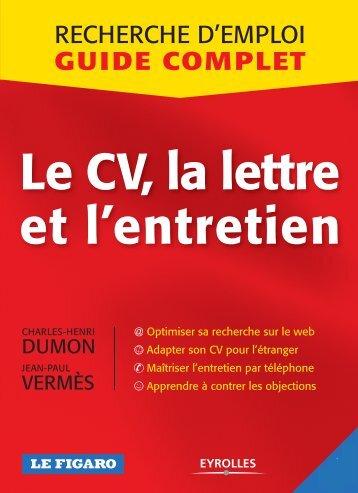 Le CV, la lettre et l'entretien - patatorz