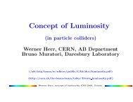 Concept of Luminosity