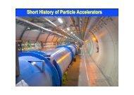 Introduction to Accelerators I - CERN Accelerator School