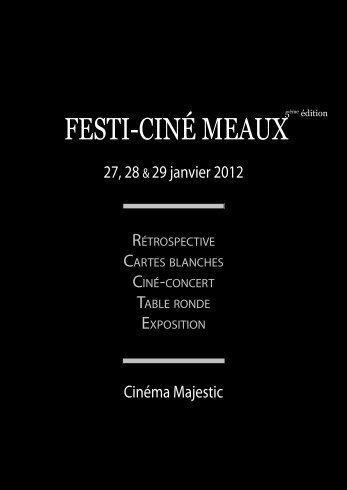 Catalogue festival Guédiguian 2012 - Ciné Meaux Club