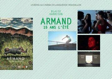 Télécharger la brochure pédagogique d'Armand 15 ans l'été en pdf