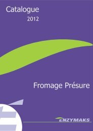 Enzymaks catalogue français