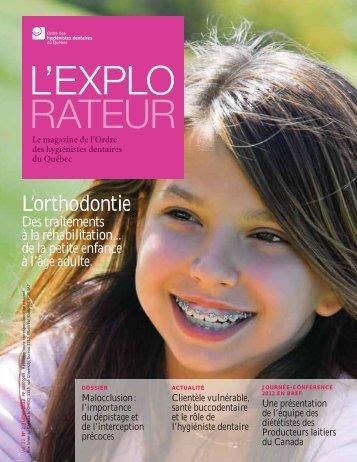 L'orthodontie - Ordre des hygiénistes dentaires du Québec