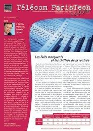 Nominations au 1er janvier 2011 - Télécom ParisTech