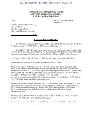 Case 08-10632-PGH Doc 2345 Filed 01/14/13 Page 1 of 2