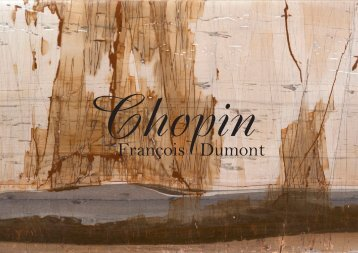 UN REGARD SUR FRANÇOIS DUMONT - Naxos Music Library